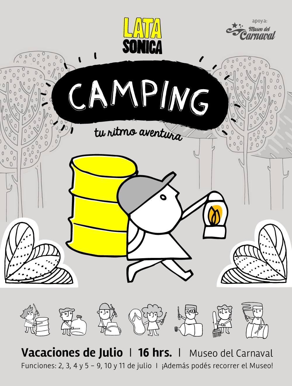 CAMPING, tu ritmo aventura